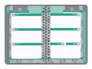 Blueline Soft Cover Design Weekly/Monthly Planner - REDC15502