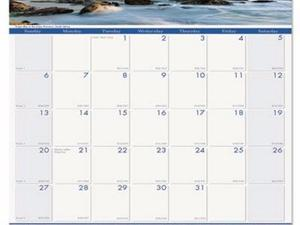 House of Doolittle Earthscapes 100% Recycled Coastlines Wall Calendar - HOD328