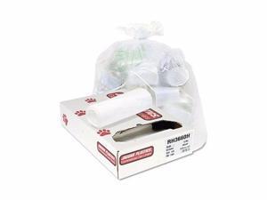 Jaguar Plastics Industrial Strength Commercial Coreless Roll Can Liners - JAGRH3660H