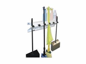 Ex-Cell Mop & Broom Holder - EXC3336WHT2
