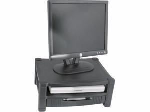ADJUSTABLE MONITOR STND 2 LEVEL W/DRAWER - MS480
