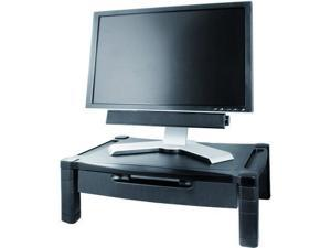 WIDE ADJUSTABLE MONITOR STAND W/DRAWER - MS520