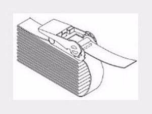 Safetybelt 1in wide 13ft long Black - ACC666