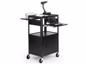 Adjustable AV Cart with two slide - A2642DNS
