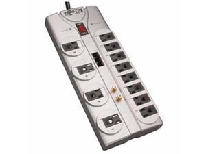 12 Outlets Tel Dsl Coax 8ft - TLP1208TELTV