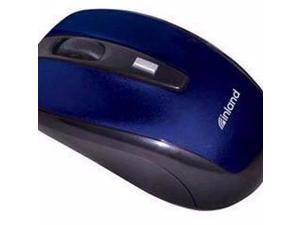 OPTICAL WIRELESS2.4G MICE BLUE USB - 7443