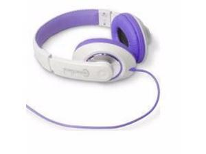 FASHIONABLE STEREO HEADSET, PURPLE COLOR - CL-AUD63032