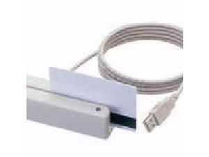 MSR,SWIPE,USB,dual trks, buzr/LED, Black - MSR213U-12AUKNR