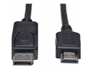 Tripp Lite 10Ft Displayport To Hd Adapter Converter Cable Video / Audio M/M 10' - Video Cable - Displayport / Hdmi - 10 Ft - P582-010