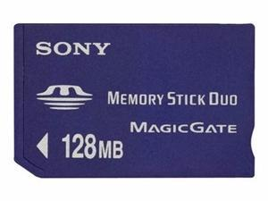 SONY - FLASH MEMORY CARD - 128 MB - MS DUO-MSHM128A