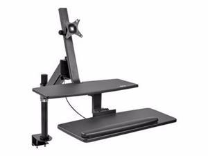 TRIPP LITE SIT STAND DESKTOP WORKSTATION ADJUSTABLE STANDING DESK W/ CLAMP - MOUNTING KIT-WWSS1327CP