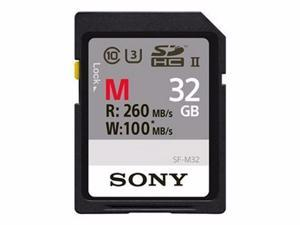 SONY SF-M SERIES SF-M32 - FLASH MEMORY CARD - 32 GB - SDHC UHS-II-SFM32/T