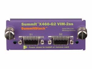 EXTREME NETWORKS SUMMIT X460-G2 SERIES VIM-2SS - NETWORK STACKING MODULE-16713