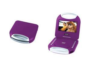 "SYLVANIA SDVD7049-PURPLE 7"" Portable DVD Player with Integrated Handle (Purple)"