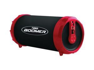 BOOMER Portable Bluetooth(R) Speaker (Red) - NAS-3071 RED