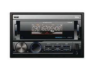 Double-DIN In-Dash Mechless AM/FM Receiver with Bluetooth(R) - 812UAB