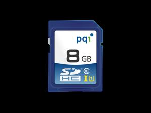 PQI High-Speed Micro SD Card 32GB SDHC UHS-1 Class 10