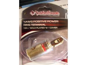 ROCKFORD FOSGATE 4 AWG POSITIVE RING TERMINAL NEW RP8042