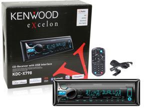 Kenwood KDC-X798 Car CD Receiver KDCX798 Bluetooth Pandora HD Radio KDCX798B