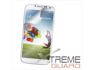 Open View Wake/ Sleep Smart Cover for Samsung Galaxy S4 + Original xtremeguard Front and Back protector
