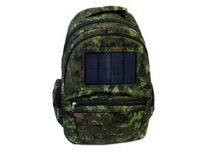 VIVO Solar Bag 2.4W Powered Backpack with Battery Portable Charger in Urban Camo BAG-SP-01W