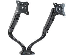 "Dual Monitor Gas Spring Mount Stand w/ USB 3.0 Port / Fits 2 Screen up to 27"" STAND-V002DU"