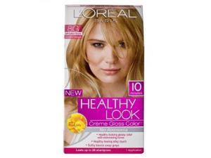 L'Oreal Healthy Look Creme Gloss Color, 8G Soft Golden Blonde