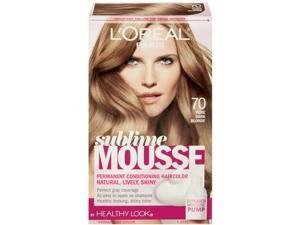 L'Oreal Healthy Look Sublime Mousse Hair Color, 70 Pure Dark Blonde