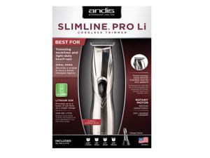 Andis Slimline Pro Li T-Blade Cord/Cordless Trimmer #32400