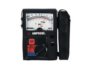 Amprobe AMB-3 Analog Megohmmeter Insulation Tester
