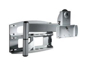 """Peerless-AV PLAV60S Articulating Silver Wall Arm With Vertical Adjustment For 37""""- 60"""" Plasma And LCD"""