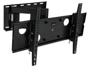 """Mount-It! MI-2171L 37-60"""" LCD TV Wall Mount Bracket with Full Motion Swing Out Tilt & Swivel Articulating Arm for Flat Screen Flat Panel LCD LED Plasma TV and Monitor Displays Includes Free 6' High Sp"""