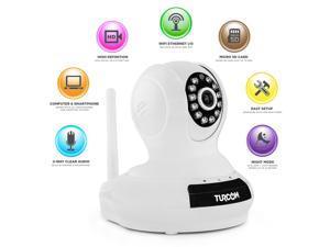 Turcom TS-622 Network IP Camera, Wi-Fi, Video Monitoring, Surveillance, Security Camera, Night Vision, Motion Detection, Nanny Cam, Baby Monitor