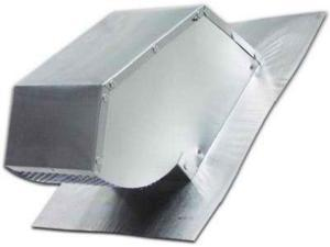 "Lambro Industries Roof Caps Aluminum with Damper & Screen Fits up to 7"" Diame..."