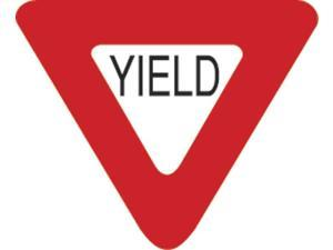 Eagle One Yield Sign