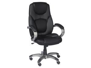 Z Line Bonded leather Executive Chair In Black