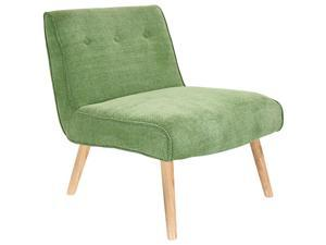 Lumisource Vintage Neo Accent Chair In Vintage Green