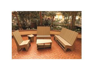Eagle One 5 Piece Milan Lounge Set In Cedar