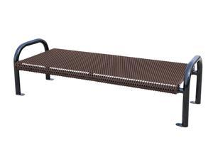 Eagle One 6 Ft Fusion Coated Metal Flat Bench