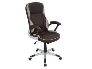 Lumisource Storm Office Chair In Brown