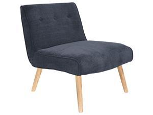Lumisource Vintage Neo Accent Chair In Deep Blue