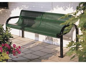 Eagle One 6 Ft Fusion Coated Metal Contour Bench
