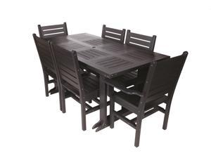 Eagle One 7 Piece Monterey 6 Foot Dining Table Set