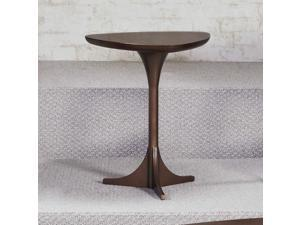 Hammary Mila Tripod Table in Burnished Copper
