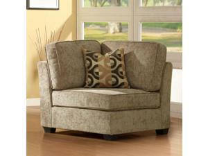 CORNER W/1PC PILLOW, CHENILLE