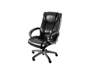 Z Line Executive Chair In Black with Graphite Grey