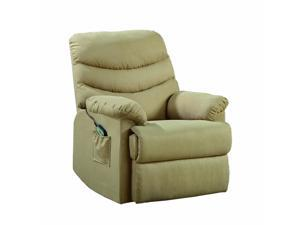 Elevated Collection Power Lift Recliner Chair in Khaki by Homelegance