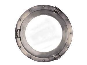 Authentic Models AC188A Cabin Porthole Mirror, Medium