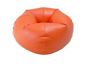 Ace Bayou Orange Matte Bean Bag