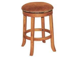 Sunny Designs Sedona Swivel Barstool In Rustic Oak - 30 Inch [Set of 2]
